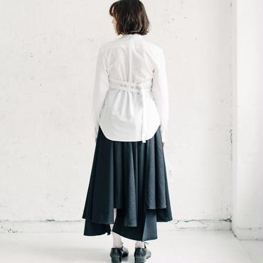 【Akihide Nakachi 】sarrouel long skirt