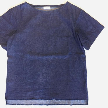 【 UN REAL 】Denim tee