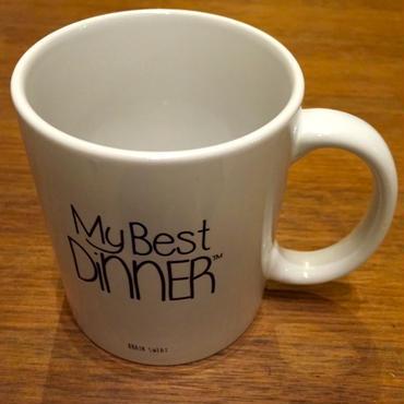 MY BEST DINNER MUG