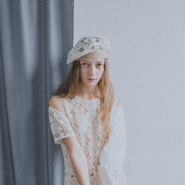 russell lace beret