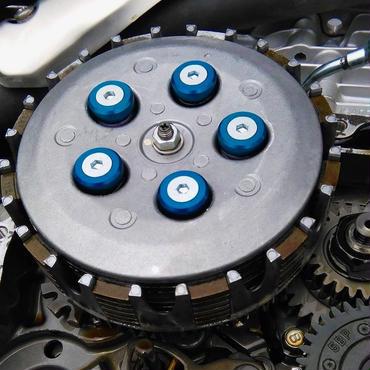 YAMAHA  SEROW250  tricker  XT250X  WR250R(X.F)  YZ250F(FX) YZ125  SY250F  用クラッチリテーナー(スプリング5本タイプ)