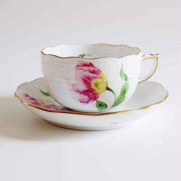 ヘレンド バコニーの春 ティーカップ&ソーサー