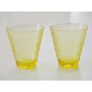 iittala (イッタラ) KASTEHELMI (カステヘルミ) タンブラー 300ml 2個セット  レモン