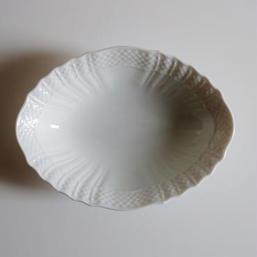リチャードジノリ ベッキオホワイト オーバル16cm