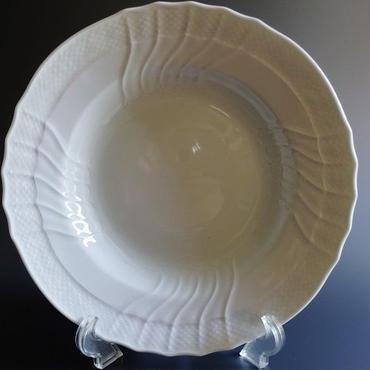 リチャードジノリ ベッキオホワイト スーププレート24cm