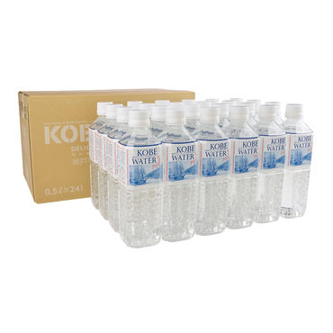 【定期便】神戸ウォーター 六甲布引の水 500mlペットボトル×24本入
