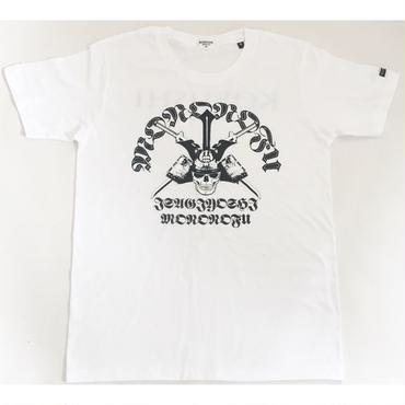 GUARD OF SEA ISAGIYOSHI TEE/海防人 潔しTシャツ/KOBUSHI BRAND/コブシブランド(WHITE)