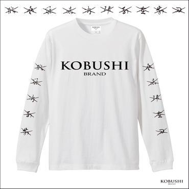 """""""KOBUSHI LOGO&9CUTTING FINGERS""""L/S T-SHIRT(拳ロゴ&九字印刀ロングスリーブTシャツ) KOBUSHI BRAND/拳BRAND/コブシブランド"""