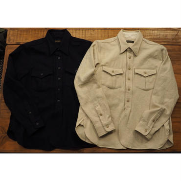 MULLER & BROS. / work shirts (cotton/wool)