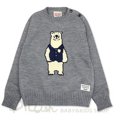 【DILASH】白クマ セーター