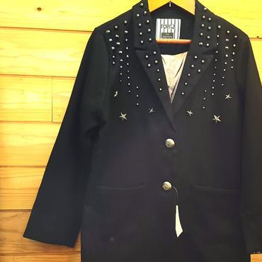 スタッズ付きジャケット