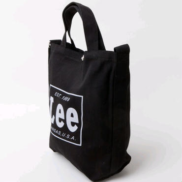 【Lee】 2WAYトートバッグ(BLACK)