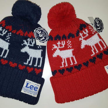 【Lee】 NORDIC KNIT CAP
