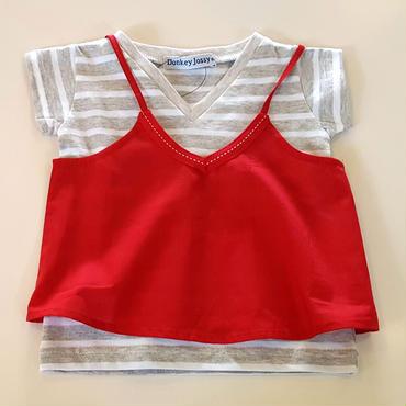 【Donkey Jossy】Tシャツ(RED)
