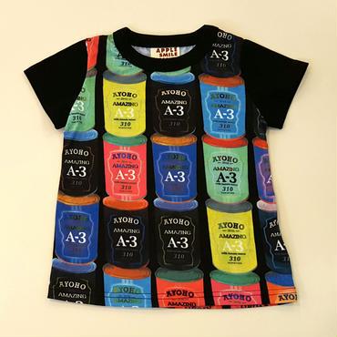 APPLE SMILE Tシャツ(BLACK)