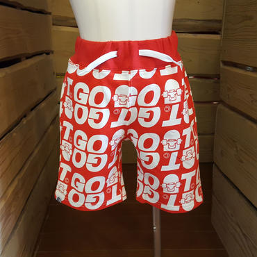 【GOAT】総柄ロゴ パンツ 100~130cm