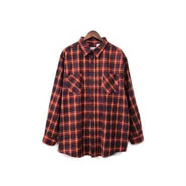USED - Check Over Shirt ¥6500+tax