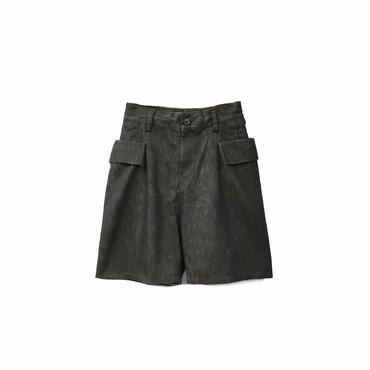 """"""" LIMI feu """" Wide Design Denim Short Pants ¥10500+tax【着画あり】"""