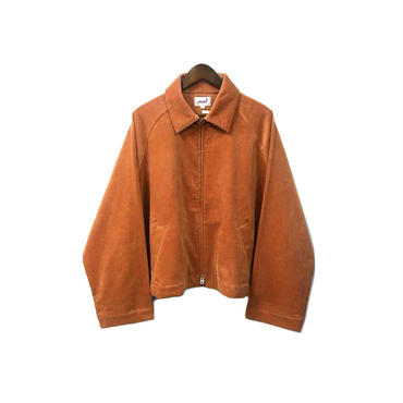 yotsuba - Corduroy Zip Jaket / Orange ¥28000+tax