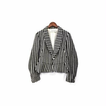 """ robe de chambre COMME des GARCONS "" Wool Stripe Jacket(¥12500+tax/M)"