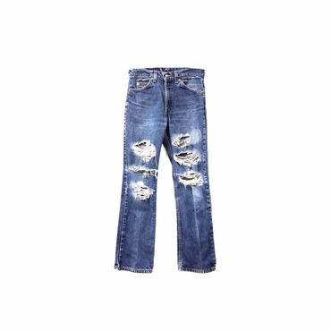 """ Levi's "" Damage Denim Pants ¥8000+tax→¥6000+tax【着画あり】"