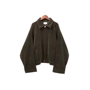 yotsuba - Corduroy Zip Jaket / Brown ¥28000+tax