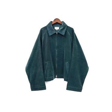 yotsuba - Corduroy Zip Jaket / Green ¥28000+tax