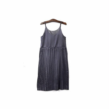 """ USED "" Pleated Design Camisole One-piece (size - M) ¥9000+tax【着画あり】"