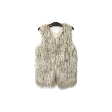 Spick&Span - Fake Fur Vest ¥9000+tax