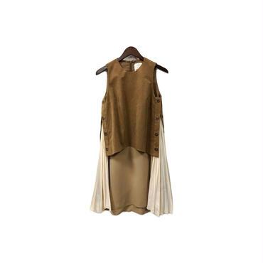muller of yoshiokubo × UNITED TOKYO - Design Sleeveless One-piece (size - 36) ¥18500+tax