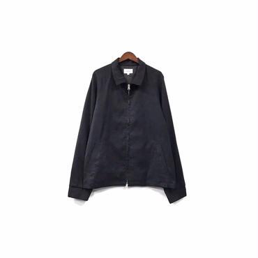 yotsuba - Fake Suede Swingtop Jacket / Black ¥34000+tax