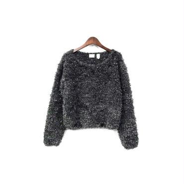 USED - Fake Fur Design Tops ¥12000+tax