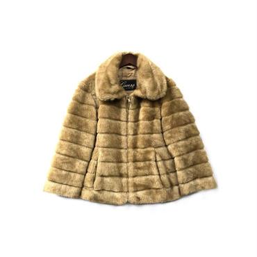 Guess - Fake Fur Jacket (size - M) ¥18500+tax
