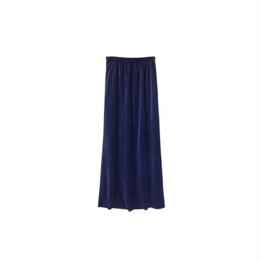 USED - Pleated Long Skirt ¥7000+tax