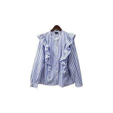 who what wear - Design Stripe Shirt ¥10500+tax