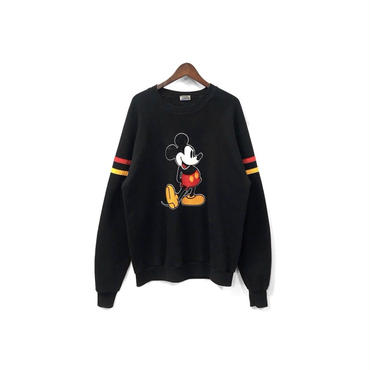 "USED - ""Mickey"" Sweat Tops (size - XL) ¥6500+tax"