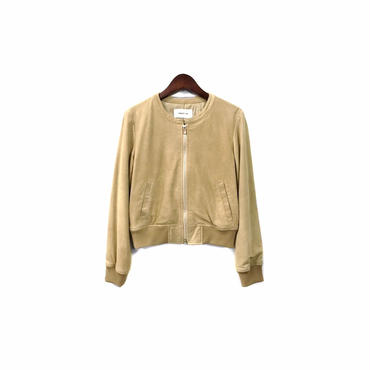 """"""" FRAY I.D """" Suede Zip Blouson (size - 1) ¥12000+tax"""