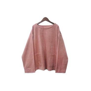 yotsuba - Corduroy Pullover Tops / Pink ¥26000+tax