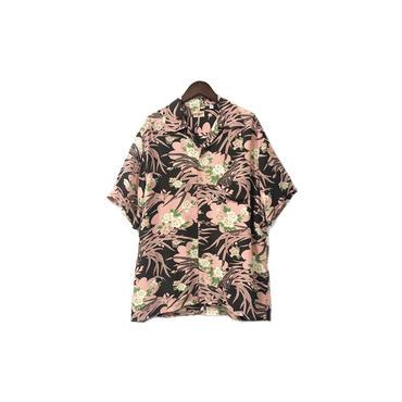 """"""" SUN SURF  """" Rayon Aloha Shirt (size - M) ¥13500+tax→¥10500+tax【着画あり】"""