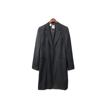 DKNY - Stripe Tailored Long Jacket ¥18500+tax