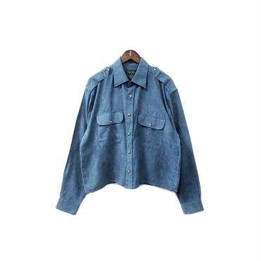 USED - Fake Suede Remake Shirt ¥9000+tax