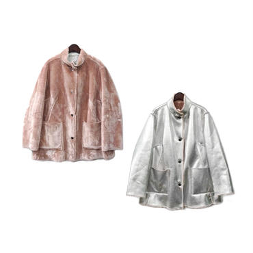 OPENING CEREMONY - Fake Mouton Reversible Jacket (size - 0) ¥28000+tax