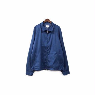 yotsuba - Fake Suede Swingtop Jacket / Blue ¥34000+tax