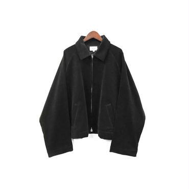 yotsuba - Corduroy Zip Jaket / Black ¥28000+tax