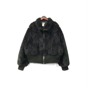 USED - Fake Fur Zip Blouson ¥15500+tax