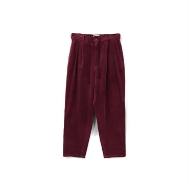yotsuba - Corduroy Wide Pants / Burgundy ¥26000+tax