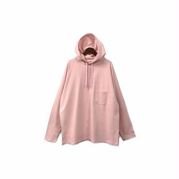 yotsuba - Hooded Cut&Sew / Pink ¥12000+tax
