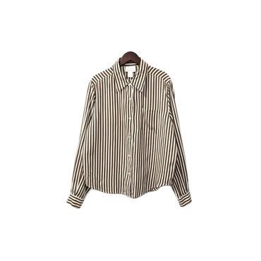 USED - Silk Stripe Shirt ¥8000+tax