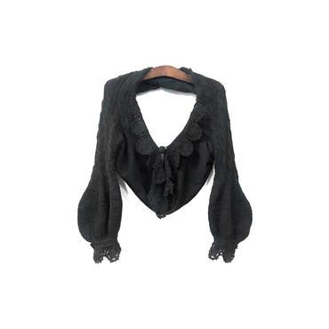 tao COMME des GARCONS - Design Lace Knit Tops ¥9000+tax
