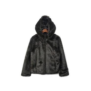 USED - Fur Reversible Hooded Jacket ¥15500+tax→¥12400+tax